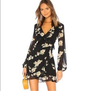 Bardot Revolve Catalina floral sheath dress 8